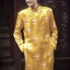 ชุดเวียดนามชาย - สีเหลืองทอง thumbnail 2