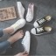 รองเท้าผ้าใบเปิดส้นเชือกไล่สี (สินค้าพร้อมส่ง) thumbnail 2