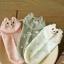 ถุงเท้าเด็กลายจุดมีหูน่ารัก ขนาด 20-22 ซม. (3 คู่ 120 บาท) thumbnail 2