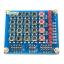 บอร์ดทดลอง 3 in 1 Keypad Matrix Keyboard 4x4 พร้อม Switch 4 ปุ่ม และ LED 8 ดวง thumbnail 1
