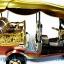 รถตุ๊กตุ๊กจำลอง Big Size ของพรีเมี่ยม Size XL แบบ 11 สีทอง มีธงชาติไทย thumbnail 4