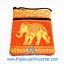 ของฝากจากไทย กระเป๋าสะพายลายช้างมินิ (แพ็ค 6 ชิ้น คละสี) thumbnail 5
