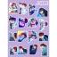 สติ๊กเกอร์พีวีซีเซต BTS LOVE YOURSELF MEMBER -ระบุสมาชิก- thumbnail 8