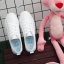 YUANBO รองเท้าผ้าใบหนังนิ่มสีขาวคาดสีฟ้า ได้เชือก 2 คู่(สีขาว+สีฟ้า) thumbnail 5