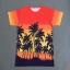 เสื้อยืด Saint Laurent Sleeve Palm Tree Sty.Taeyang -ระบุไซต์- thumbnail 2