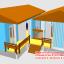 บ้านน็อคดาวน์ ทรงปั้นหยา บ้านแฝด 4*6 + 3*4 thumbnail 7