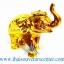 ของพรีเมี่ยม ของที่ระลึกไทย ช้าง แบบ 15 Size S สีทอง-น้ำตาล thumbnail 3