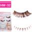 HW-32# ขนตาเอ็นใส สีน้ำตาล (ขายปลีก) เเพ็คละ 5 คู่ บนล่าง thumbnail 1