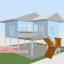 บ้านโมบาย ขนาด 6*7 ระเบียง 3*3 เมตร +ยกสูง 2 เมตร (1ห้องนอน 2ห้องน้ำ 1ห้องรับเเขก 1ห้องครัว) thumbnail 2