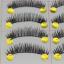 V-607 ขนตาปลอม (ขายปลีก) แพ็คละ 10 คู่ thumbnail 1