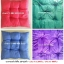เบาะรองนั่ง สีพื้น คละสี 13*13นิ้ว อันละ 13บ ส่ง 1200อัน thumbnail 3