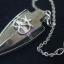 เพนดูลั่มไพไรต์หัวลูกศรอักษรโอม ( pyrite pendulum ) thumbnail 4