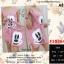 F10264 Set 2 Pieces เดรส แขนกุด พิมพ์ลาย มิกกี้เม้าส์ + กระเป๋า พิมพ์ลาย มิกกี้เม้าส์เข้าชุดกัน สีชมพู thumbnail 1