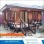 บ้านน็อกดาวน์ ขนาด 4*6 เมตร ระเบียง 2*3 เมตร ราคา 290,000 บาท thumbnail 1