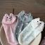ถุงเท้าเด็กลายจุดมีหูน่ารัก ขนาด 20-22 ซม. (3 คู่ 120 บาท) thumbnail 7