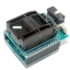 Socket 28 CHIP PROGRAMMER SOCKET TQFP32 QFP32/ LQFP32 TO DIP28 adapter socket for arduino atmega328 atmega168 atmega8 thumbnail 2