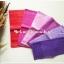 ผ้าเช็ดหน้าสีพื้นโทนสีชมพูม่วง 6 ผืน thumbnail 1