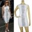 HV110 / Preorder Herve Leger Dress Style พรีออเดอร์เดรสไตล์ Hervr Leger เดรสผ้ายืด ใส่สวยเน้นรูปร่าง thumbnail 2