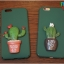 iPhone 7 - เคสแข็งปิดขอบ ลายกระบองเพชร (Cactus) thumbnail 4