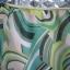 กระโปรงแฟชั่นสีเขียว ลวดลายสวย ชายกระโปรงมีระบาย ผ้าพริ้วใส่สบาย ยี่ห้อ armoire caprice Made in Japan thumbnail 3