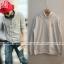 Hoodie GRAY Sty.G-Dragon -ระบุไซต์- thumbnail 1
