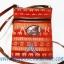 ของฝากจากไทย กระเป๋าสะพายลายช้างสายหนัง แบบ 8 สีแดง thumbnail 1