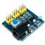 DC-DC Power Module Multi Output Voltage Conversion โมดูลแปลงไฟ 6.5-12V เป็น 5V และ 3.3V สำหรับทดลอง thumbnail 1