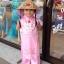 ชุดเวียดนามเด็กหญิง ผ้าแพรไหม (แขนกุด) thumbnail 1
