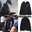 Hoodie PEACEMINUSONE Zipper Black Sty.GD -ระบุซต์- thumbnail 1
