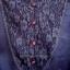 (หมดแล้วจ้า!!) เสื้อชีฟอง สีน้ำเงินเข้มจ้า มีลูกไม้ด้านหน้า แขนเป็นระบาย ชายเสื้อเป็นลูกไม้ ดูดี ยี่ห้อ arnaldo bassini thumbnail 2