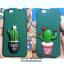 iPhone 7 - เคสแข็งปิดขอบ ลายกระบองเพชร (Cactus) thumbnail 2