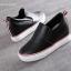 รองเท้าผ้าใบแฟชั่น สูง 2 นิ้ว(หนัง) thumbnail 4