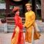 ชุดเวียดนามชาย - สีเหลืองทอง thumbnail 1