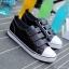 รองเท้าผ้าใบแฟชั่นผู้หญิง(หนัง) ขนาด 35-39 thumbnail 5