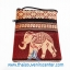 ของฝากจากไทย กระเป๋าสะพายลายช้างมินิ (แพ็ค 6 ชิ้น คละสี) thumbnail 8