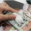 iPhone 7 - เคส TPU หลังนุ่มนิ่ม 3D ลายแมวขาว พื้นหลังเขียว thumbnail 11