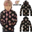 Hoodie Mark<JUST RIGHT>Black Sty.ODD FUTURE -ระบุไซต์- thumbnail 1