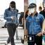 Jacket Jeans Sty. G-Dragon -ระบุไซต์- thumbnail 2