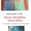 ผ้าขนหนู ผ้าเช็ดหน้า สีพื้น คละสี 12*12นิ้ว โหลละ 52 บาท ส่ง 200โหล thumbnail 2