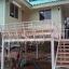 บ้านน๊อคดาวน์ ขนาด 6*7 เมตร ระเบียง 3*3 เมตร ยกสูง 2 เมตร (2ห้องนอน 2ห้องน้ำ 1ห้องรับเเขก) thumbnail 3