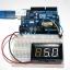 LED Voltage Meter Mini Digital Voltmeter DC 5-28V สีขาว thumbnail 3