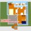 บ้านโมบาย ขนาด 6*7 ระเบียง 3*3 เมตร +ยกสูง 2 เมตร (1ห้องนอน 2ห้องน้ำ 1ห้องรับเเขก 1ห้องครัว) thumbnail 5
