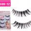 HW-12 ขนตาเอ็นใส (ขายปลีก) เเพ็คละ 5 คู่ thumbnail 1