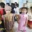 ชุดเวียดนามเด็กหญิง ผ้าแพรไหม (แขนกุด) thumbnail 7
