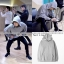Hoodie kanye west I feet Like Pablo GRAY Sty.Mark GOT7 -ระบุไซต์- (S/M หมด) thumbnail 1