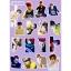 สติ๊กเกอร์พีวีซีเซต BTS LOVE YOURSELF MEMBER -ระบุสมาชิก- thumbnail 7