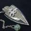 เพนดูลั่มไพไรต์หัวลูกศรอักษรโอม ( pyrite pendulum ) thumbnail 1