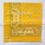 ผ้าพันคอBandannasไซส์บิ๊ก 28นิ้ว สีเหลืองทอง thumbnail 1