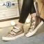 รองเท้าผ้าใบแฟชั่นหุ้มข้อ ขนาด 35-39 (พรีออเดอร์) thumbnail 3