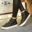 รองเท้าผ้าใบแฟชั่นหุ้มข้อ ขนาด 35-39 (พรีออเดอร์) thumbnail 2